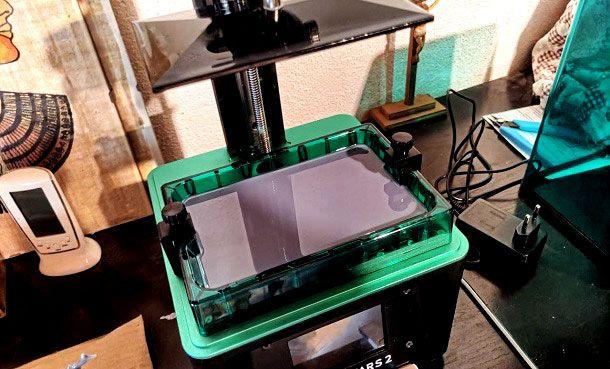 Serbatoio Resina Stampante 3D