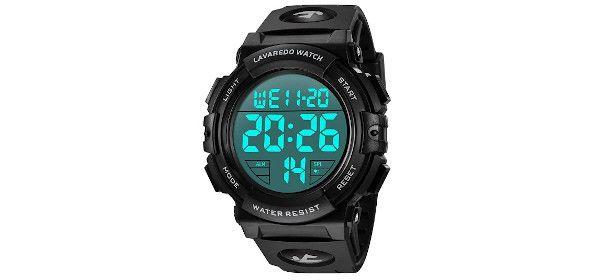 display orologio digitale da polso