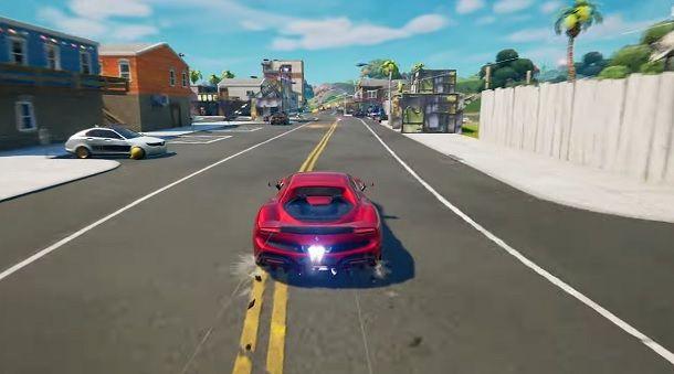 Ferrari Fortnite gameplay