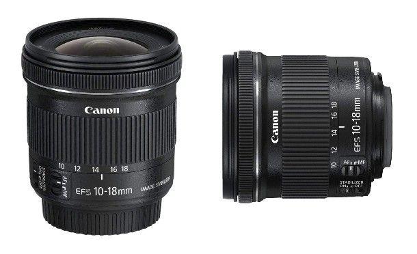 EF-S 10-18 mm f/4.5-5.6 IS STM