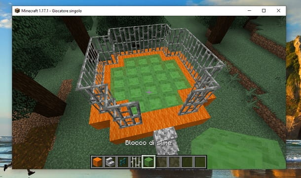 Blocco di Slime Minecraft