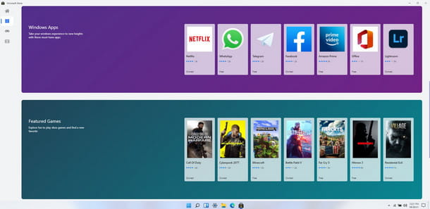 Un nuovo Microsoft Store pensato appositamente per Windows 11