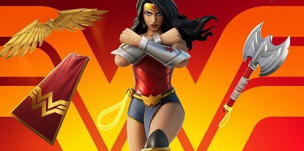 Elementi estetici Wonder Woman Fortnite