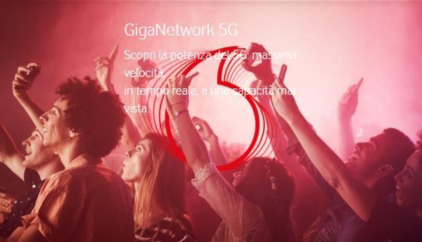 Come attivare il 5G: Vodafone