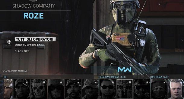 Come usare Roze su Call of Duty Warzone