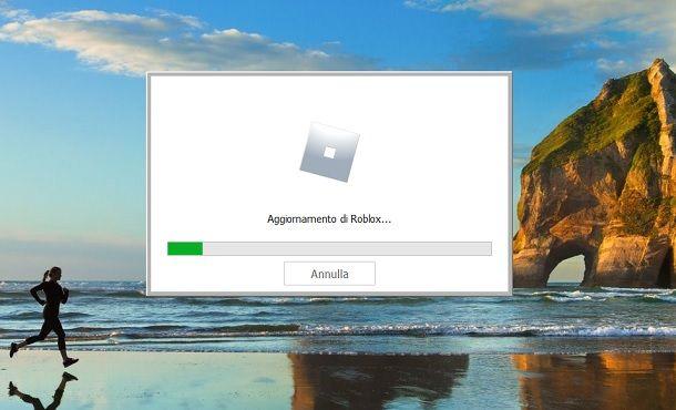 Aggiornamento di Roblox Windows