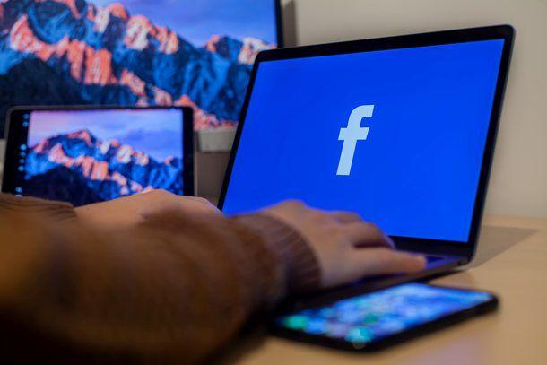 Login a Facebook tramite PC