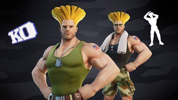 Guile Street Fighter Fortnite