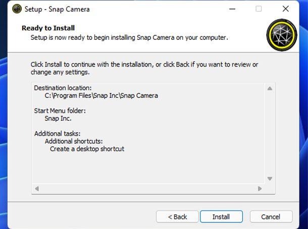 Come scaricare Snap Camera su Windows