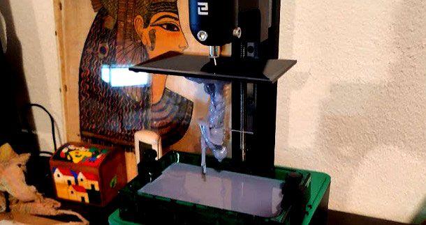 Come funziona stampante 3D resina