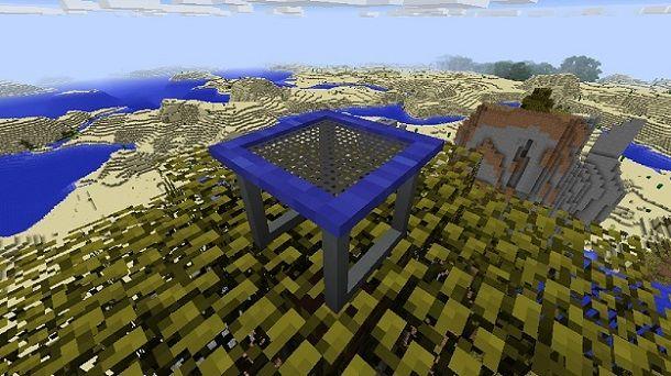 Trampolino Minecraft