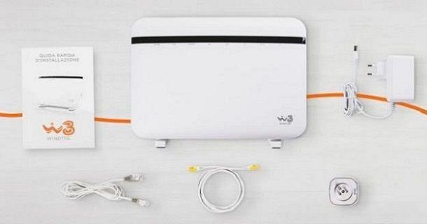 Come resettare modem WINDTRE fibra: procedura standard