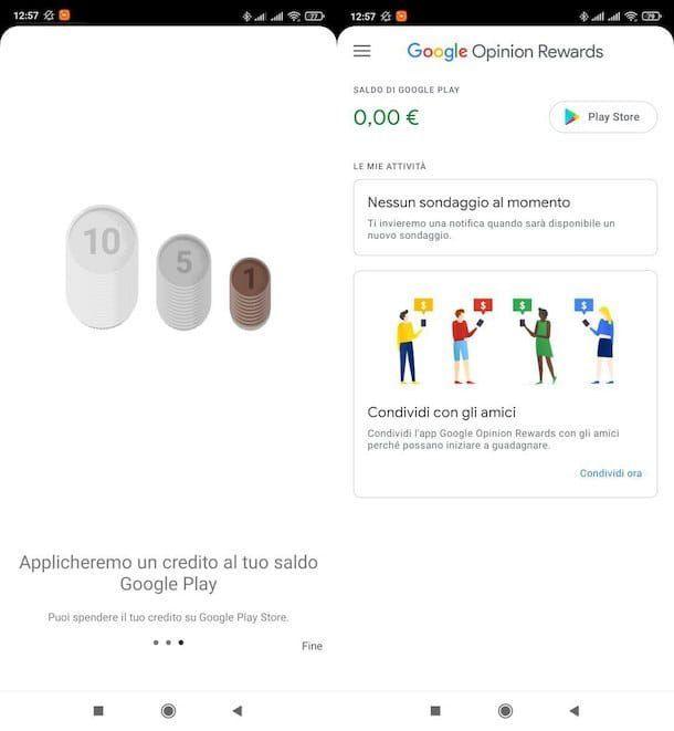 Guadagnare da casa con Google Opinion Rewards