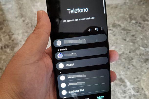 Come trasferire contatti da HUAWEI a Samsung