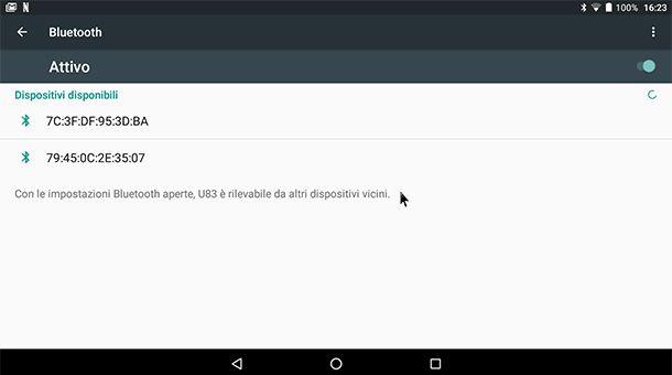 Come collegare il mouse wireless al tablet Android