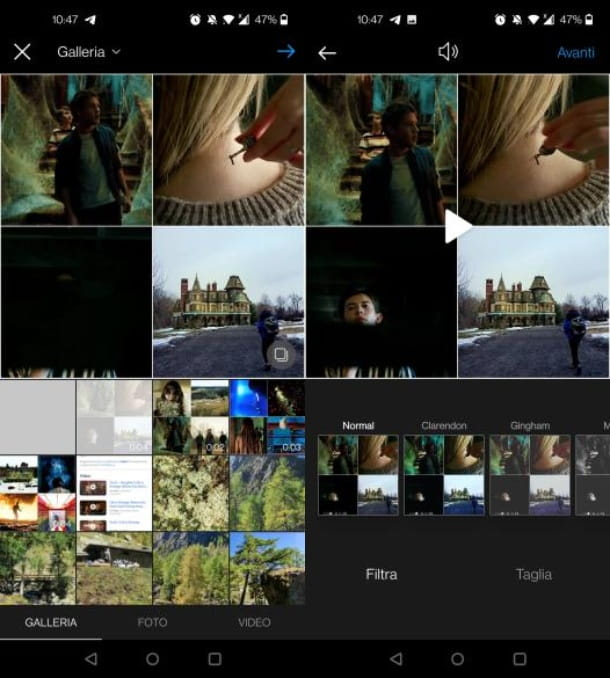 Video Instagram Android