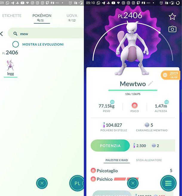 Come catturare Mewtwo in Pokémon GO