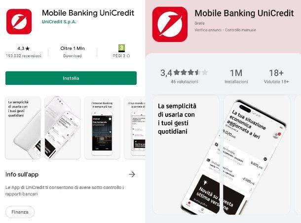 Installare l'app UniCredit su nuovo telefono