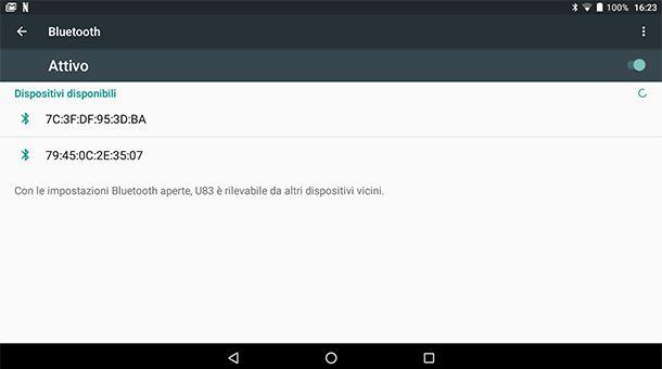 Come collegare il mouse Bluetooth al tablet Android
