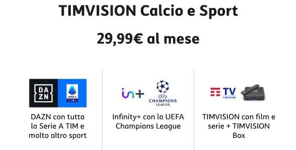 TIMVISION Calcio e Sport