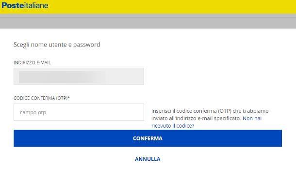 Come attivare il codice SPID con Poste Italiane