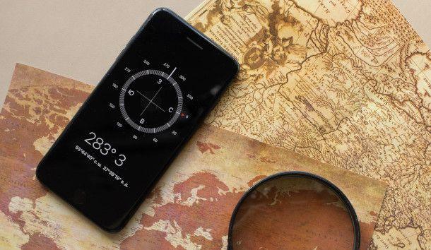 mappa smartphone