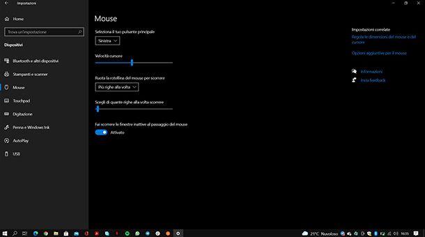 Come collegare il mouse wireless al tablet Windows
