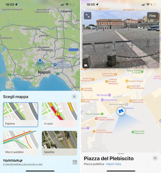 Mappe iOS 15