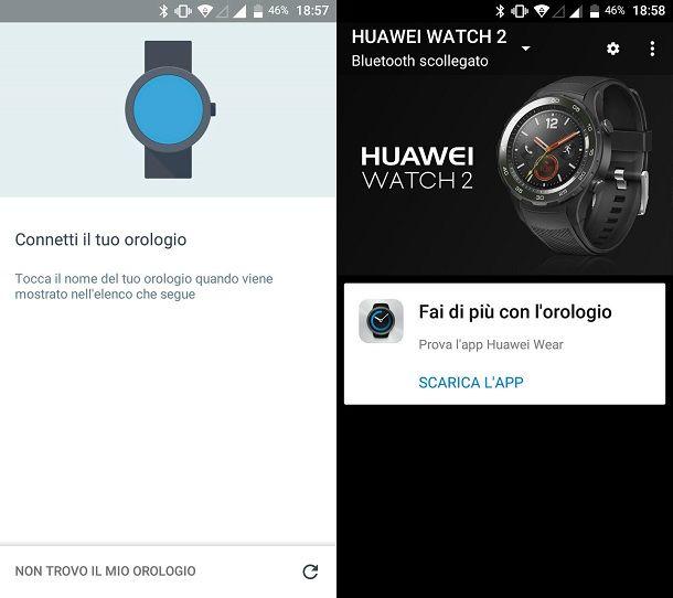 Connetti il tuo orologio Wear OS