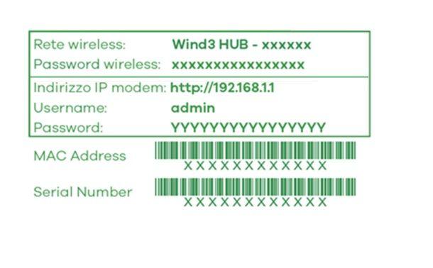 Come entrare nel modem WINDTRE Hub