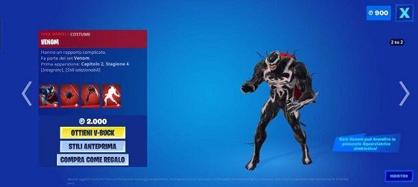 Come sbloccare Venom su Fortnite