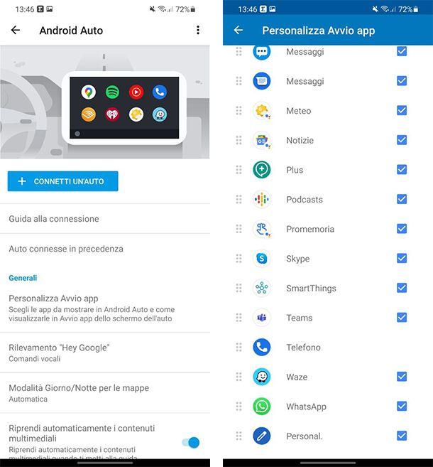 Come aggiungere app su Android Auto