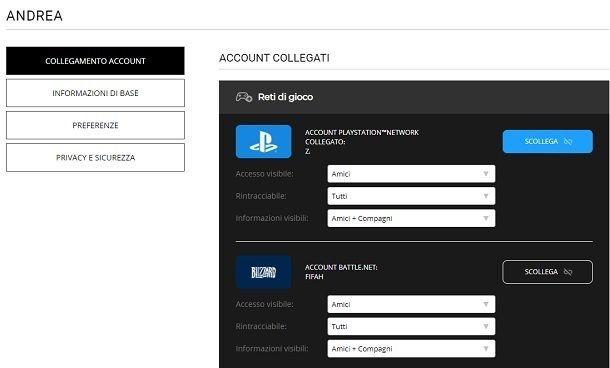 Come scollegare account PS4 COD Warzone