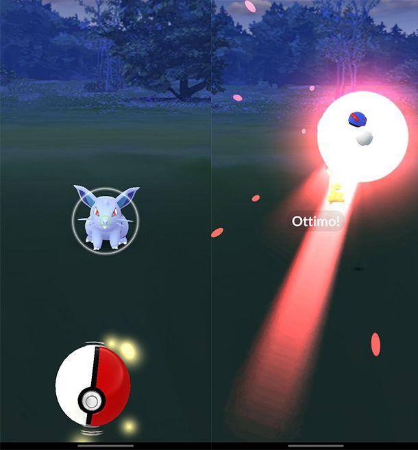 Come tirare Poké Ball in Pokémon GO