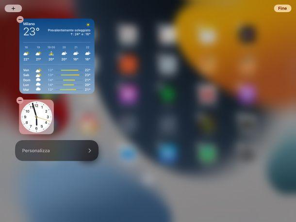 Vista Oggi iPad
