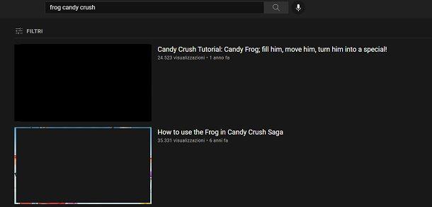 Come funziona rana Candy Crush