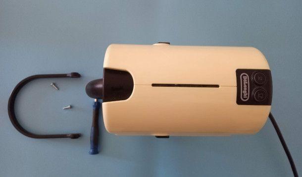 smontaggio maniglia Nespresso Inissia