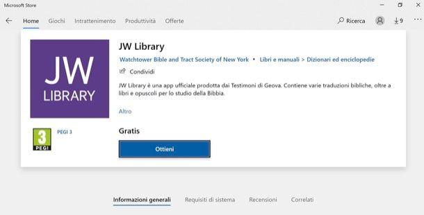 Come scaricare JW Library su PC