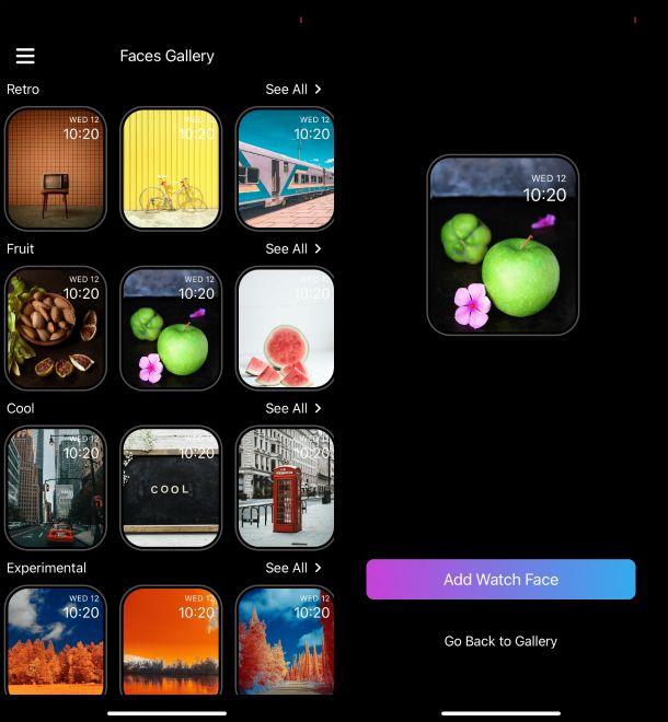 App Watch Faces