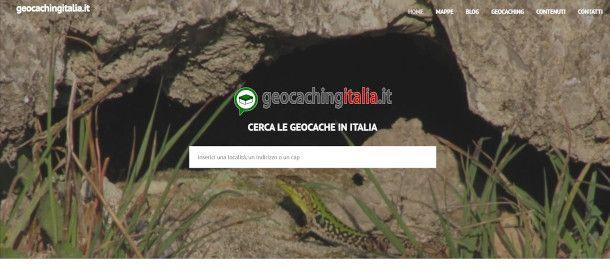 altri siti per geocaching