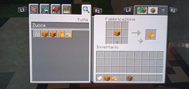 come illuminare una zucca su Minecraft