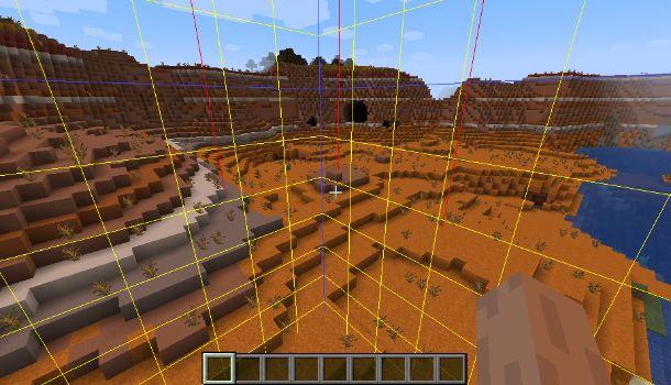 Bordi del chunk su Minecraft