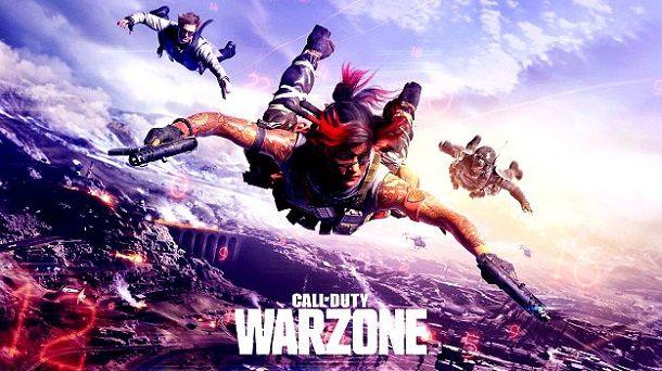 Warzone schermata caricamento