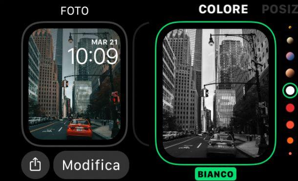 Modifica Quadrante Foto Apple Watch