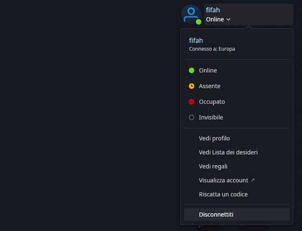Logout Activision account PC