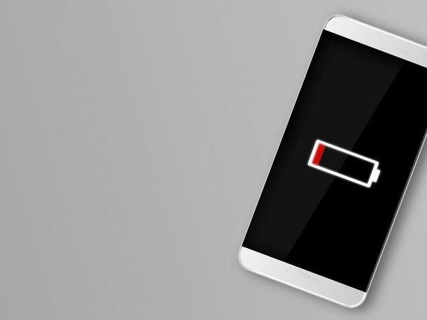 Scaricare batteria