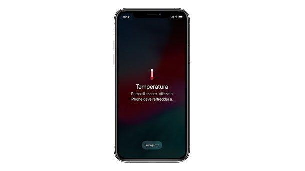 Come vedere la temperatura del telefono iPhone