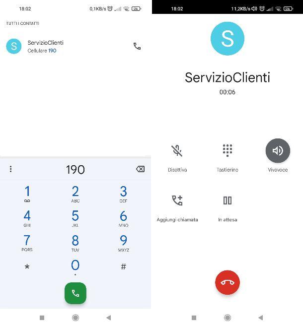 Chiamare servizio clienti Vodafone
