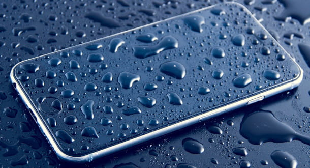 espulsione acqua smartphone