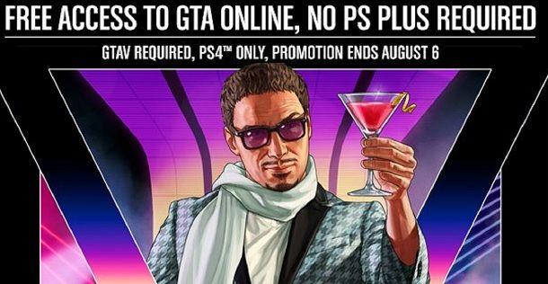Come giocare a GTA 5 Online PS4 senza abbonamento